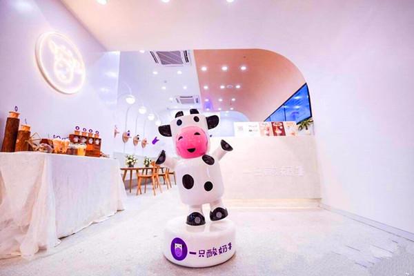 一只酸奶牛一个月盈利