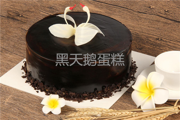 黑天鹅蛋糕