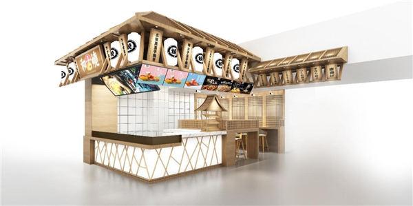 和古烧日式小吃店铺装修风格