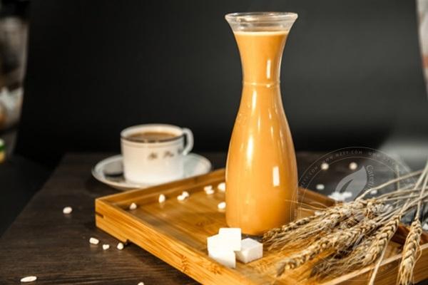 椰田湾椰子冻奶茶