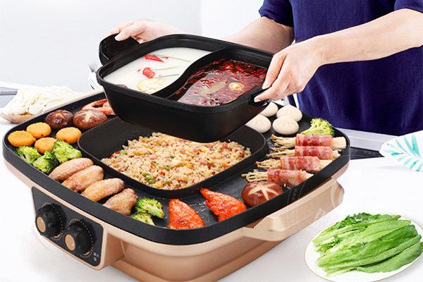 聚德轩涮烤一体锅