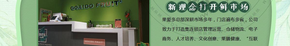 果爱多水果艺术馆加盟
